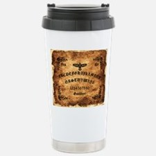 Celtic Raven Ouija Boar Travel Mug