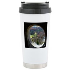 Through the looking win Travel Mug
