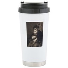 Rembrandt's Portrait of Travel Mug