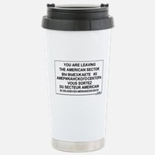 You Are Leaving The Ame Travel Mug