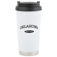 Oklahoma Disc Golf Travel Mug