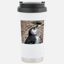 Penguin Profile Stainless Steel Travel Mug