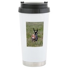 Pronghorn by in Meadow Travel Mug