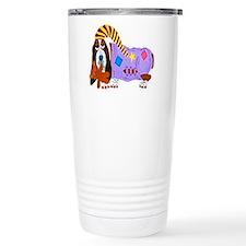 Basset Hound Bedtime Travel Mug