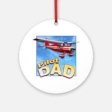 Pilot Dad Ornament (Round)