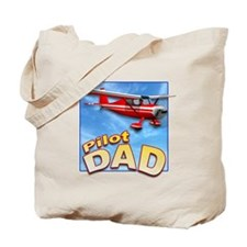 Pilot Dad Tote Bag