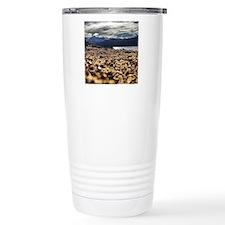 Turquoise Lake Travel Mug