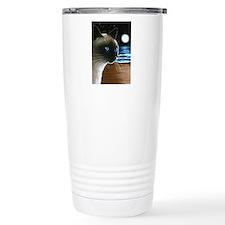 Cat 396 siamese Travel Coffee Mug
