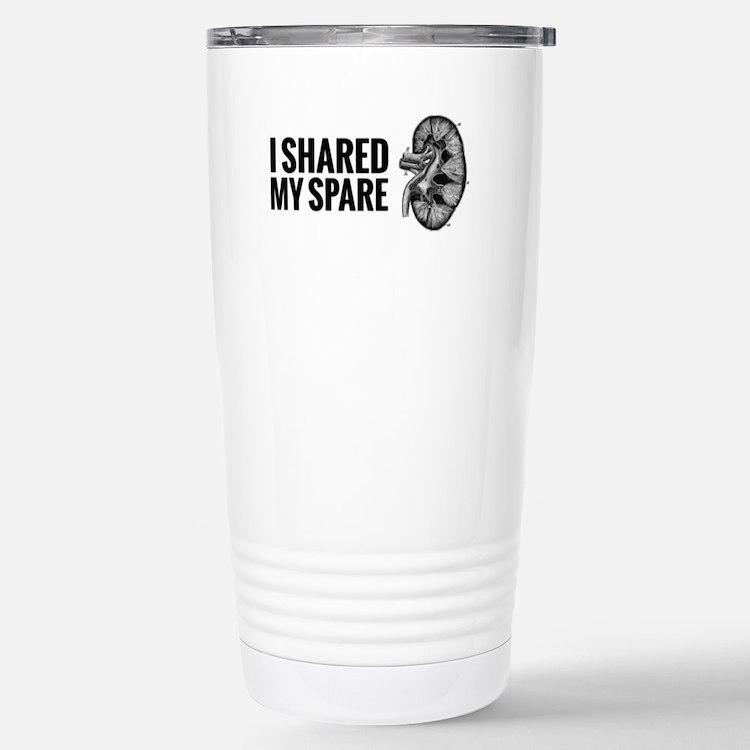 Cute Kidney donation Travel Mug