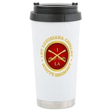 1st Louisiana Cavalry Stainless Steel Travel Mug