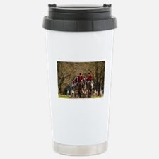 Fox Hunt Stainless Steel Travel Mug