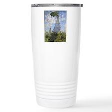Claude Monet, Woman Wit Travel Mug