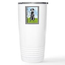 Curly Coated Retriever  Travel Mug