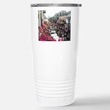 Mardi gras Party on Bou Travel Mug