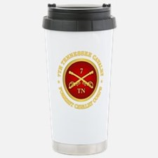 7th Tennessee Cavalry Stainless Steel Travel Mug
