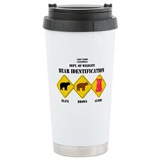 Gummi Bear Warning - Tahoe Travel Mug
