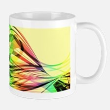 Colorful Abstract Art Mugs