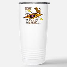 Cute Kayak Travel Mug