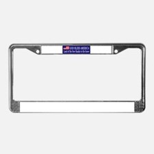 Unique God bless american License Plate Frame
