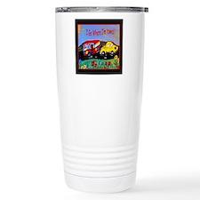 Camper Trailer  Travel Coffee Mug