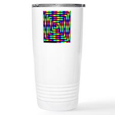 Colorful Art Travel Mug