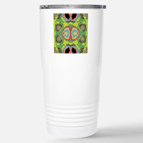 Abstract Art Stainless Steel Travel Mug