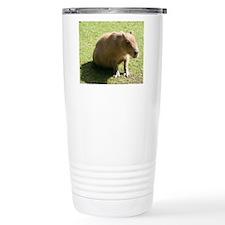 Lazy Capibara Travel Mug