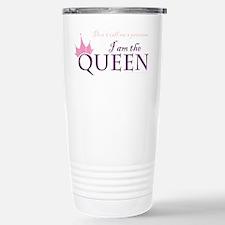 Queen, not a princess Travel Mug