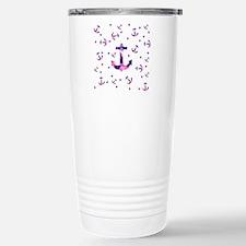 Purple Pink Watercolor  Travel Mug