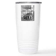 Office Portal Hell :) Travel Mug