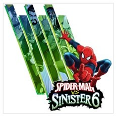 Sinister Six 2 Wall Art Canvas Art