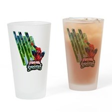 Sinister Six 2 Drinking Glass