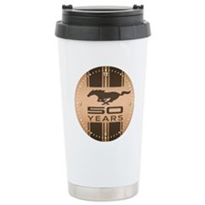 Ford Mustang 50 Year An Travel Mug
