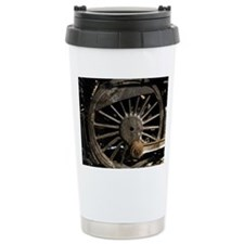 Steam Locomotive Wheel Travel Mug