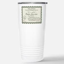 Poetry Travel Mug