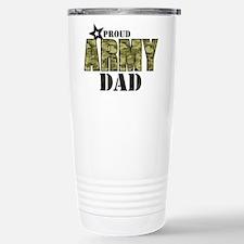 Camo Proud Army Dad Travel Mug