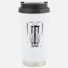 Art Deco Nikola Tesla Stainless Steel Travel Mug