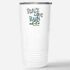 Peace Love Run CC Travel Mug