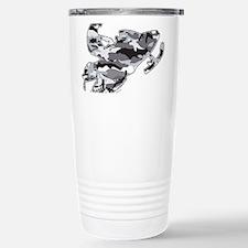 Camouflage Grey Snowmob Travel Mug