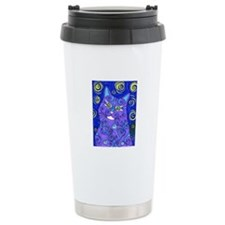 Van Goghs Cat Travel Mug