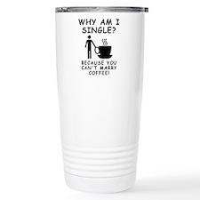 Unmarried Single Male Coffee Travel Mug