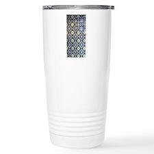 Mexican Mosaic Tile Travel Coffee Mug
