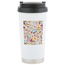 SCATTERED COUPONS Travel Coffee Mug