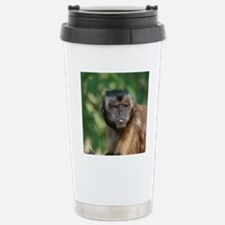 Grouchy Capuchin Monkey Travel Mug