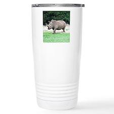Rhinoceros with Huge Ho Travel Mug