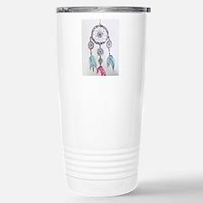 Watercolor Dreamcatcher Travel Mug
