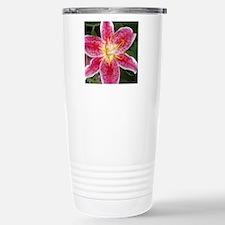 Flower: Stainless Steel Travel Mug