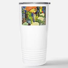 August Macke, House in  Travel Mug
