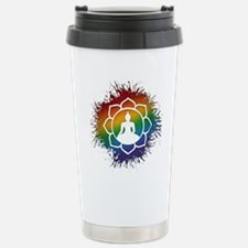 LGBT Buddhist Lotus Travel Mug