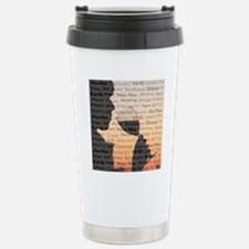 WINE WORDS Stainless Steel Travel Mug